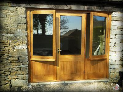oak window and door screen