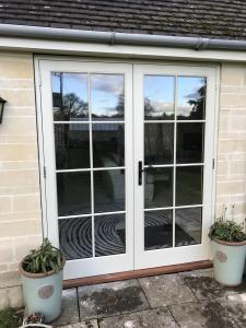 French Doors Painted Glazing Bars