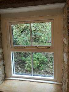 Top Hung Painted Window