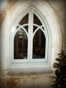 Gothic arched window